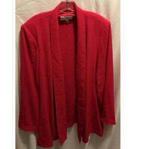 Size 2X Calvin Klein Open Front Jacket